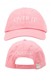 Over It Dad Hat (Pink)