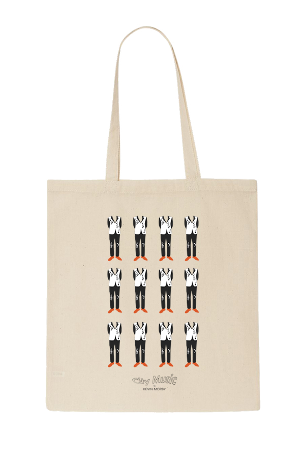 City Music Tote Bag