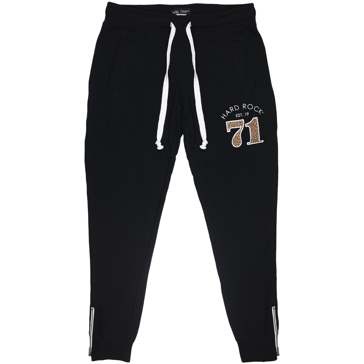 Ladies Leopard 71 Jogger Pant Black 0