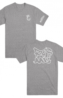 Crown Tag Tee (Heather Grey)