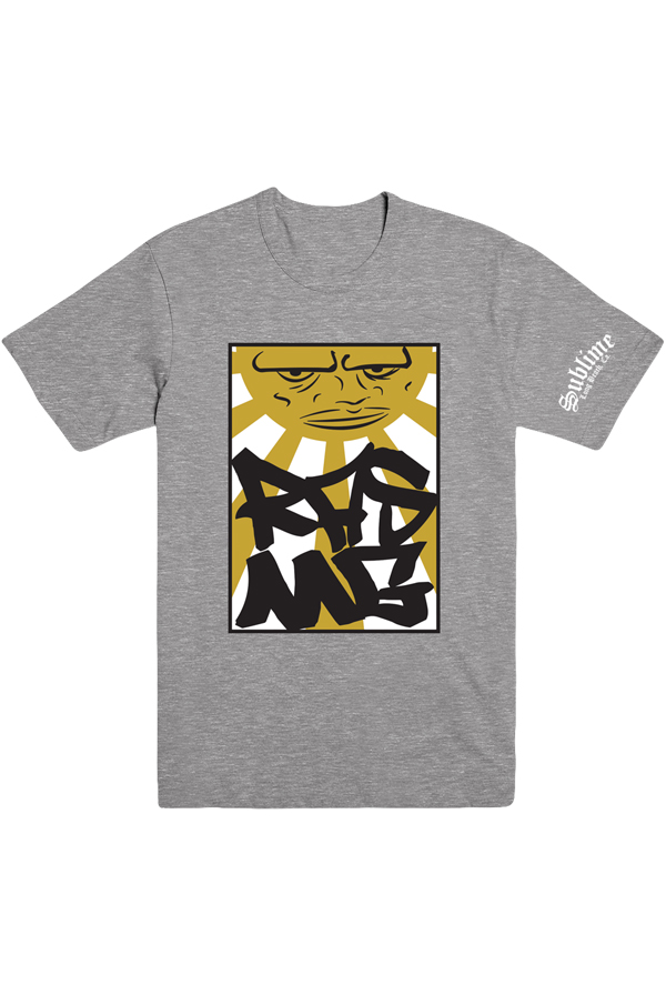 Sun Mustard Tee (Heather Grey)