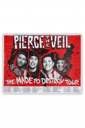 The Made To Destroy Tour Dates Poster