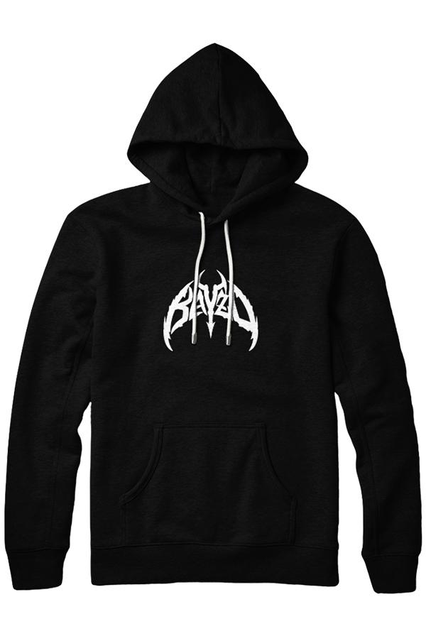 Skull Design Hoodie (Black)