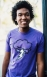 Anxiety Classic Tee (Purple): Anxiety_MensTee_Purple_Model_05a.jpg