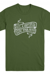 Kill A Hipster Tee (Green)