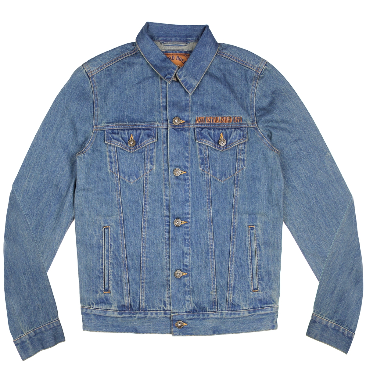 Mens Anti Established Denim Jacket 1