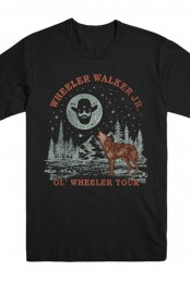 Ol Wheeler Tour Tee (Black)