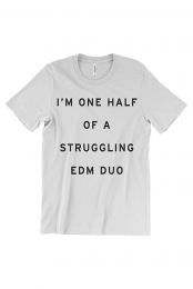 EDM Duo Tee (White)