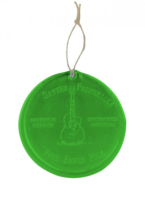 Free Range Folk Ornaments/Suncatcher (Green)