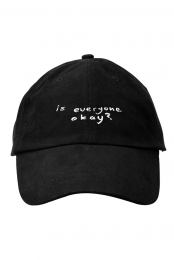 Is Everyone Okay Hat (Black)