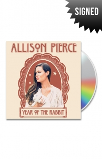 Signed Year of the Rabbit CD