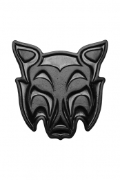 Crywolf Enamel Pin (Black)