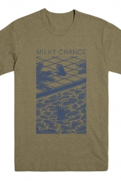 Milky Chance Hands T-Shirt (Khaki)