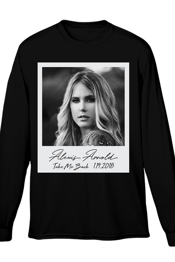 690ebfb3b19cf0 Polaroid Long Sleeve (Black) T-Shirt - Alexis Arnold T-Shirts - Online  Store on District Lines