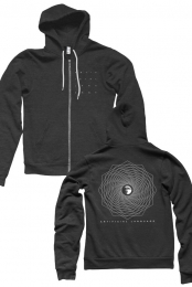 Interstellar Zip Hoodie (Heather Charcoal)