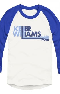 Logo Baseball Raglan (White/Blue)
