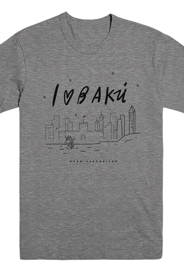 I Love Baku Tee