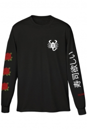 Roses Long Sleeve (Black)