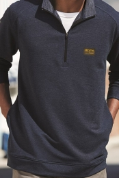 1 In 100 Pullover (Navy Heather)