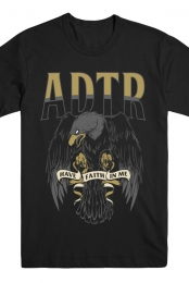 Faith Eagle Tee (Black)