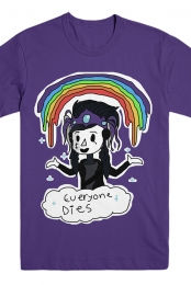 Everyone Dies Parody Tee (Purple)