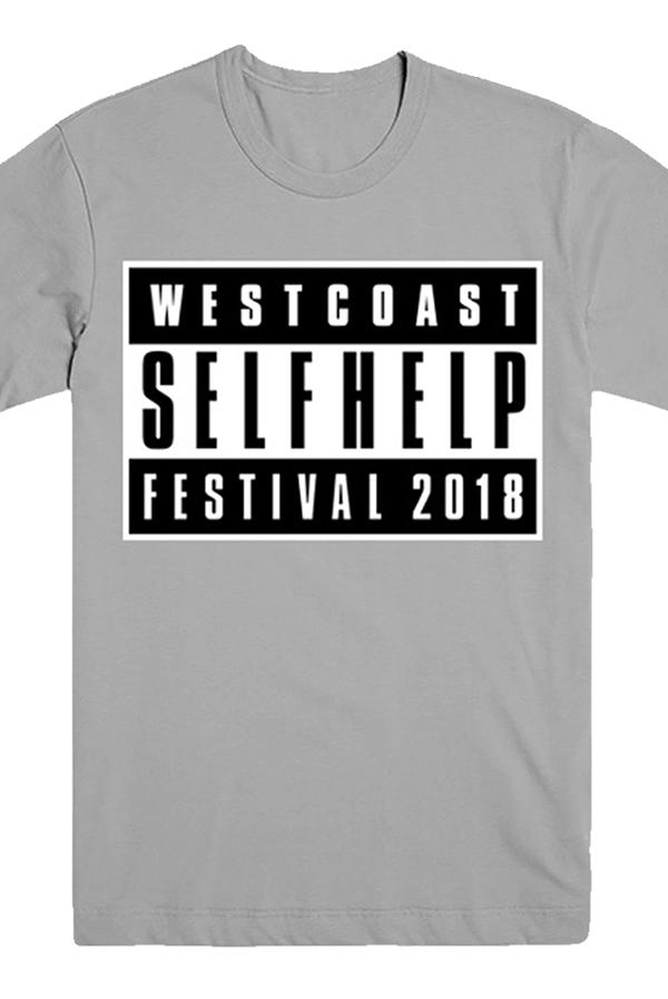 West Coast Parental Advisory Tee (Silver) T-Shirts - Self
