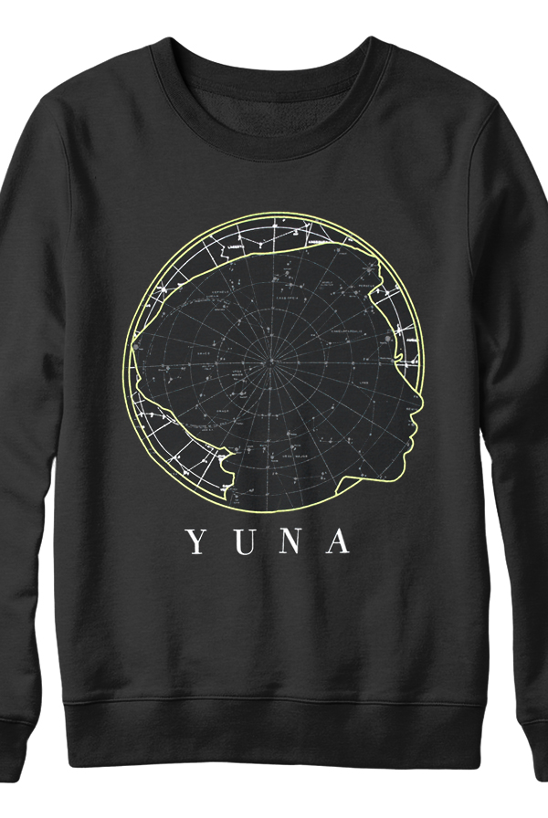 Star Map Crewneck (Black)