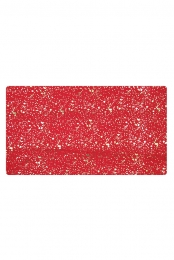 Red Scarf with Gold Dots