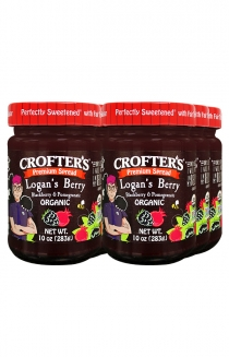 Loganberry Crofters Organic Jam 6-Pack