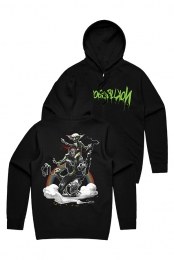 Swat Goblin Zip Up Hoodie (Black)