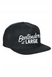 Bartender At Large Snapback (Black)