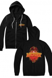 Space Circus Zip-Up (Black)