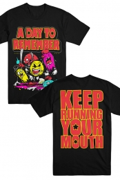 Keep Running Your Mouth Tee (Black)