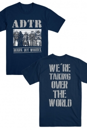Taking Over Tee (Navy)
