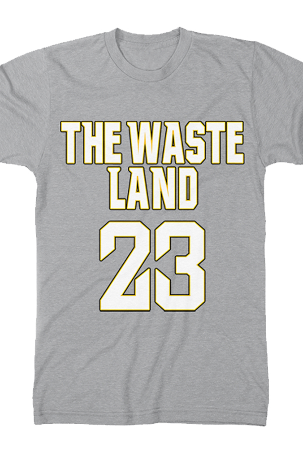 The Waste Land Tee (Silver)