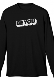 Be You Long Sleeve Tee (Black) - Nic Howell