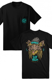 Wolf Pocket Tee (Black)