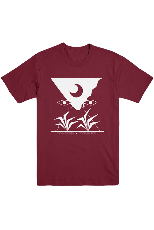 SInging Saw Tee (Cardinal) - White Print