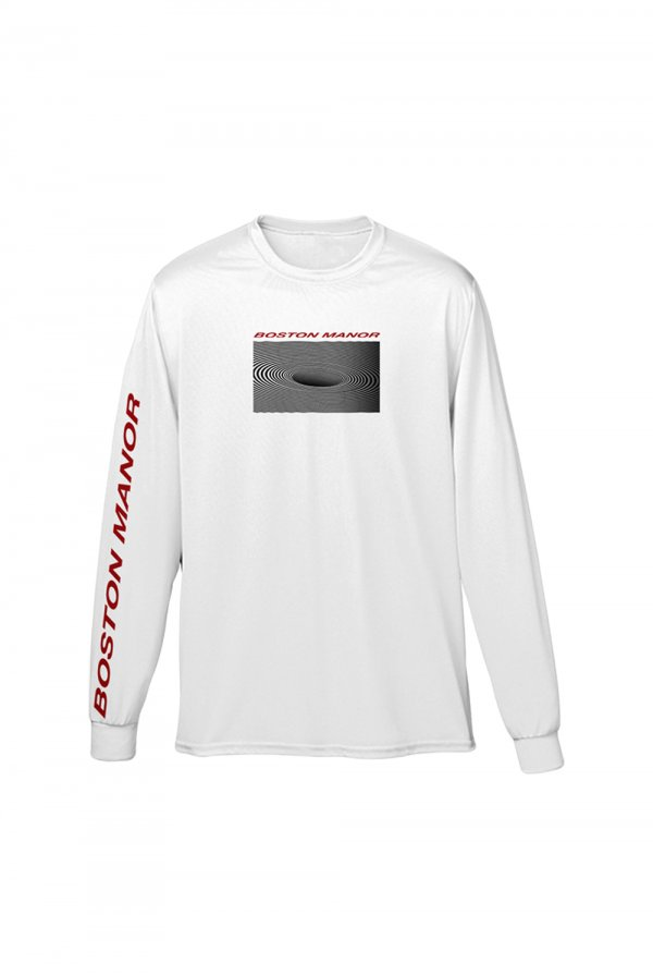 Black Hole Longsleeve (White)