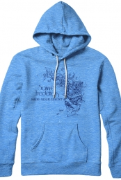 Hide Your Ghost Hoodie (Blue)