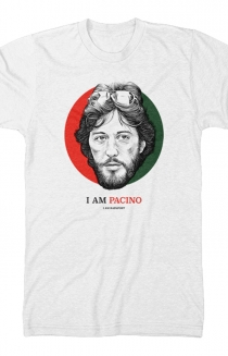 I Am Pacino Tee (White)