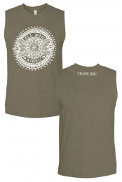 All Ways Always Muscle Tank (Heather Olive)