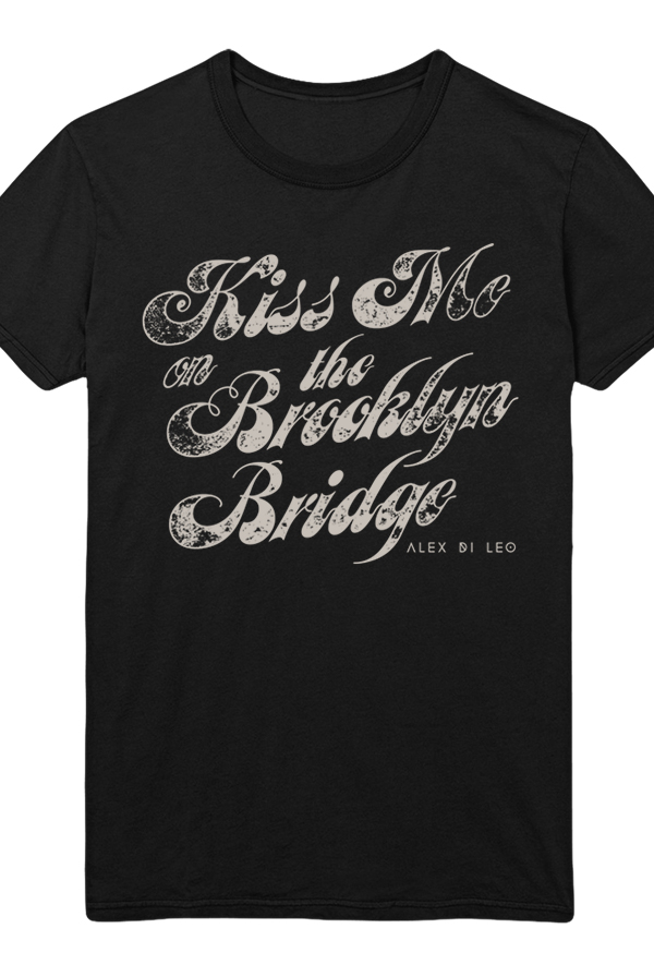 8365d3c0 Kiss Me Tee (Black) T-Shirt - Alex Di Leo T-Shirts - Online Store on ...