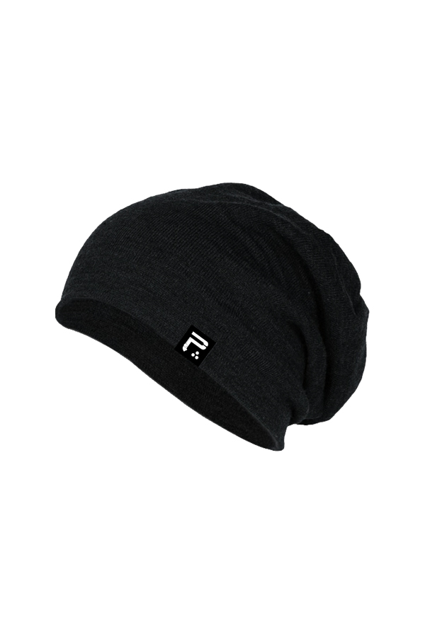 Icon Slouch Beanie (Black)