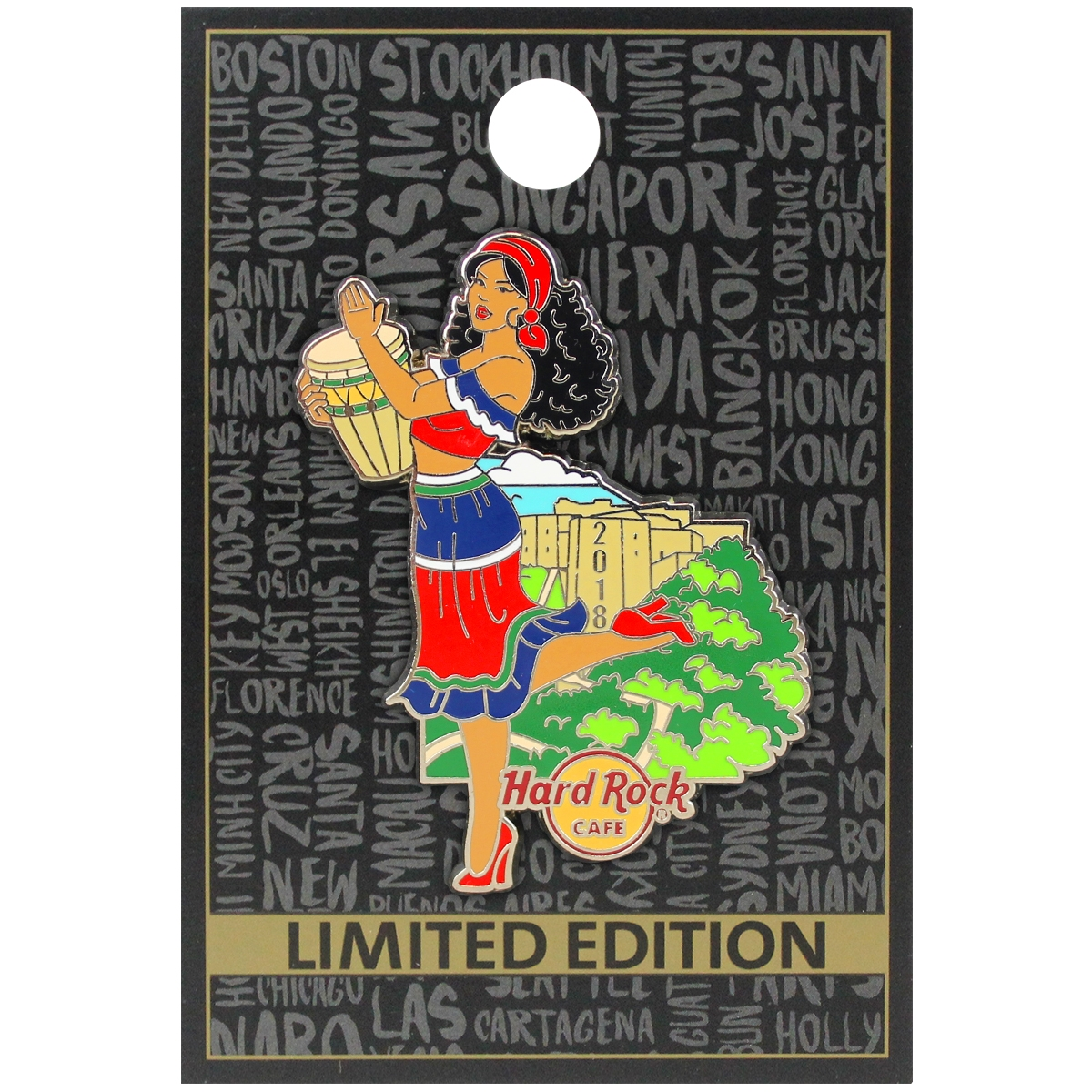 Pin Up Girl Series Haiti 18 0