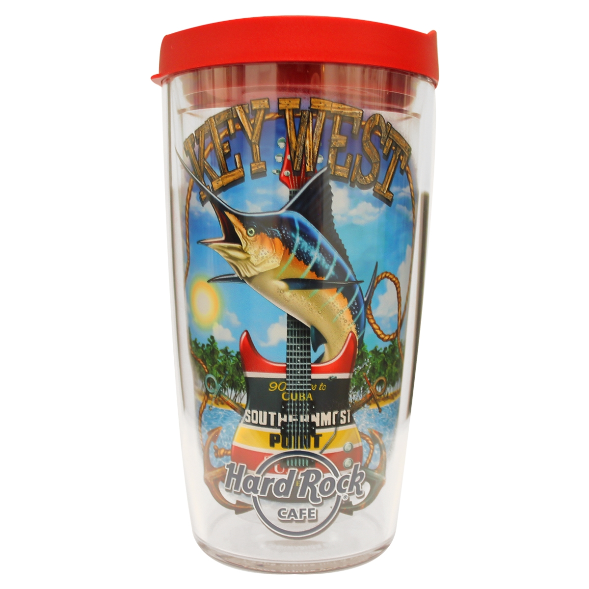 City Art Tervis Tumbler 16oz Key West 0