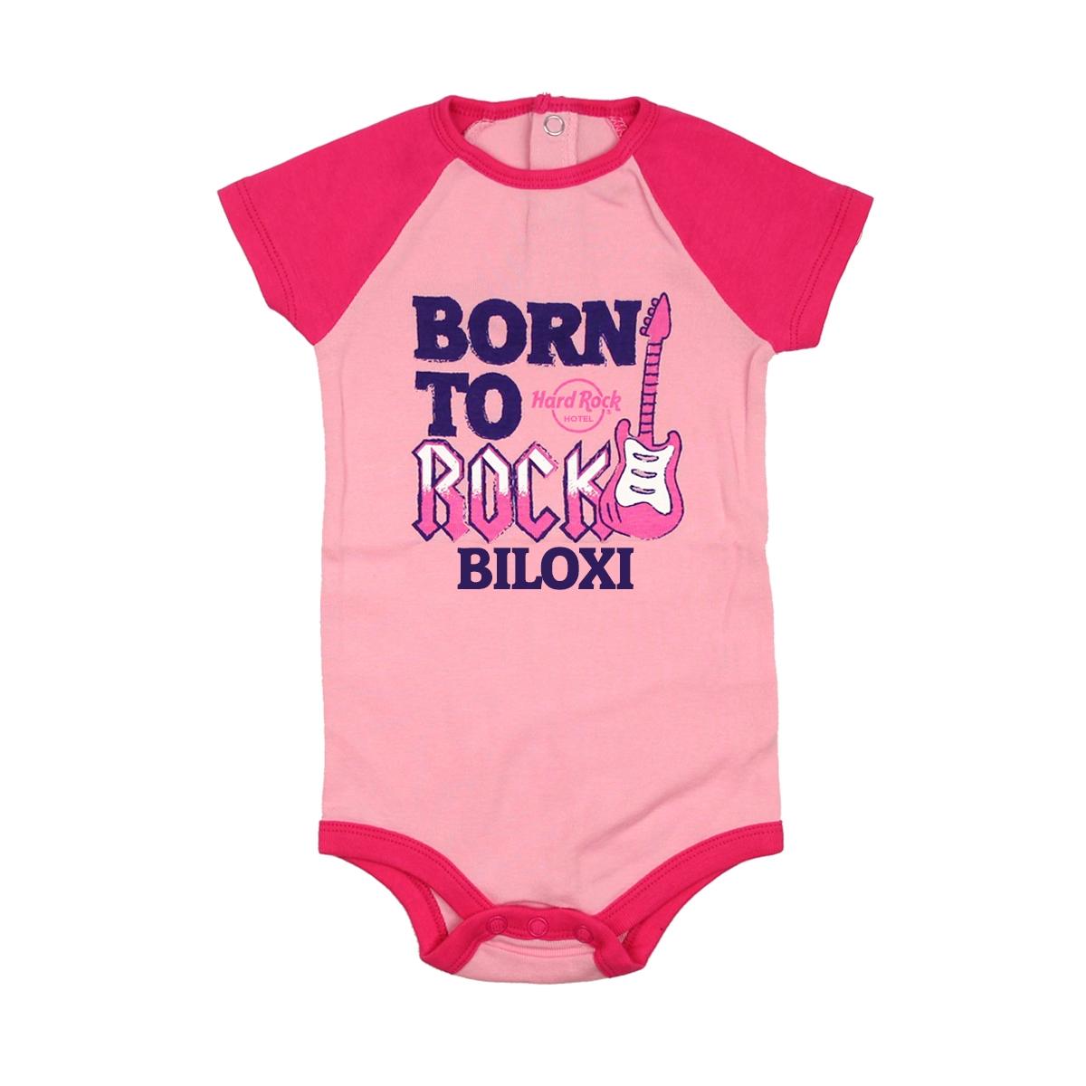 Infant Colorblock Raglan Onesie Biloxi Hotel 0