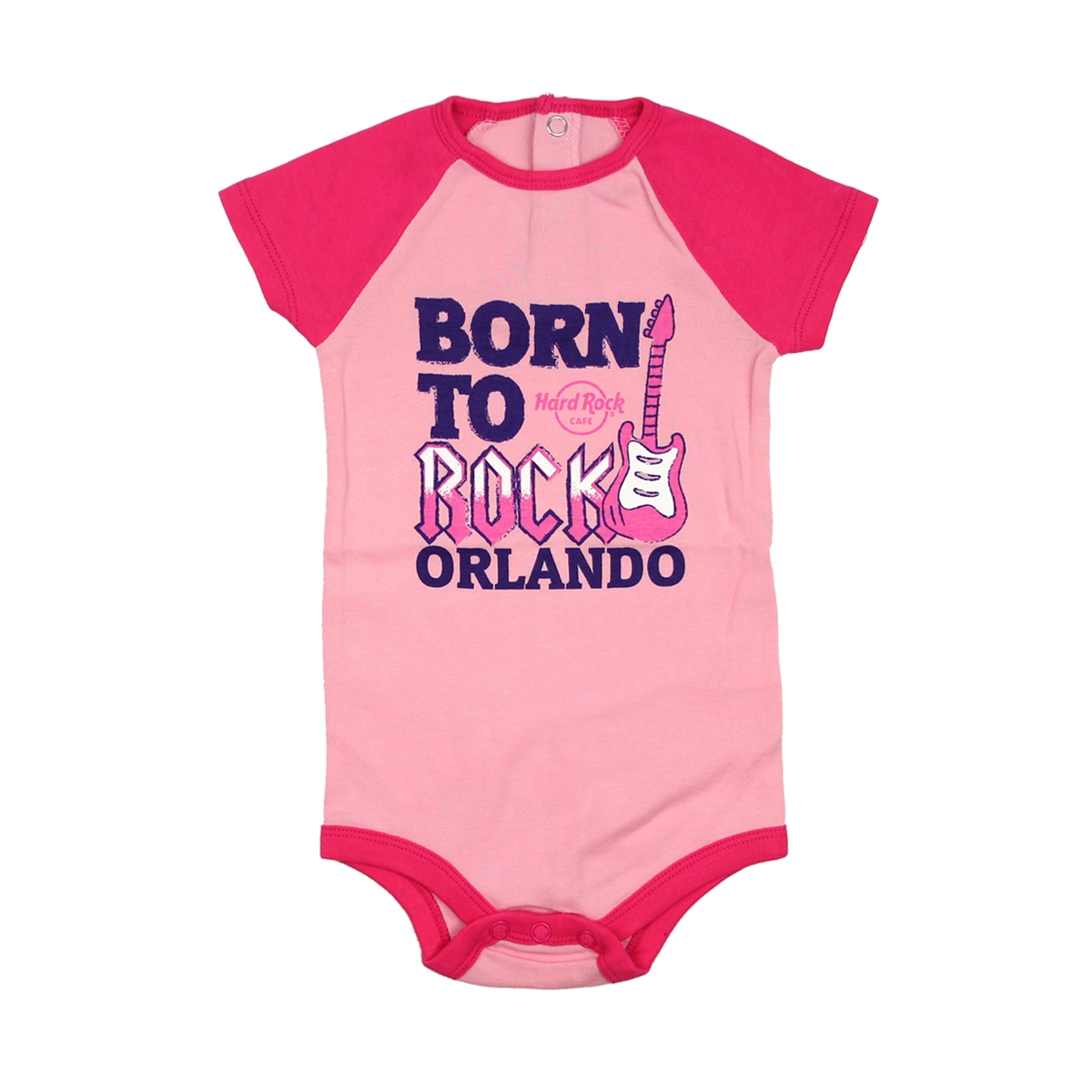 Infant Colorblock Raglan Onesie Orlando 0