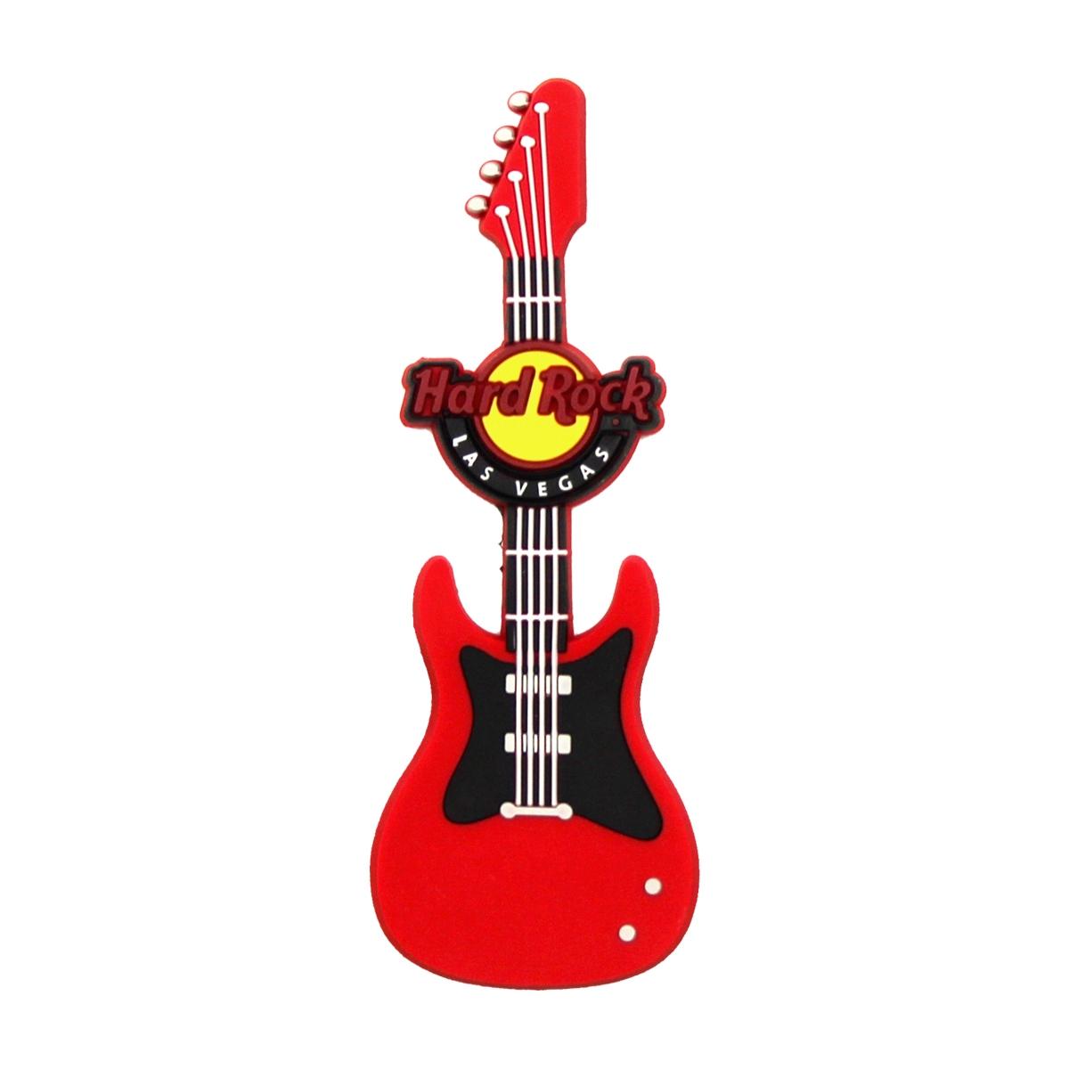 PVC Guitar Magnet Vegas Strip 0
