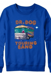 Space Bus Crewneck (Blue)